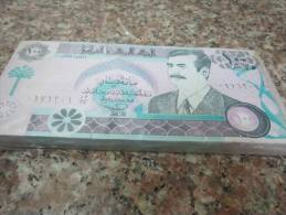 IRAQ bundle, banknote 100 DINARS P-76 ,1991 (100 pcs ) one bundle , UNC (fake)