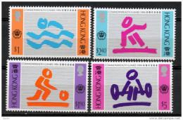 China Chine : (40) 1994 Hong Kong - 15èmes Jeux De Commonweath SG783/6** - 1997-... Région Administrative Chinoise