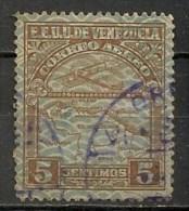 Timbres - Amérique - Venezuela - 1932 - Aéreo - 5 C. - - Venezuela