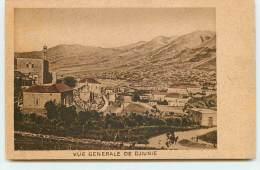 Liban - Vue G�n�rale de Djiunie