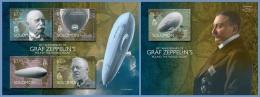 slm14505ab Solomon Is. 2014 Graf Zeppelin 2 s/s