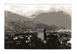 Valle D´Aosta -  Gressan -  Panorama Con Veduta  - Città Di Aosta.    Viaggiata - Italia