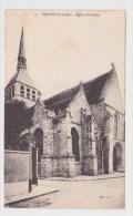 (RECTO / VERSO) PROVINS EN 1933 - N° 15 - EGLISE STE CROIX - Provins