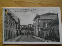 EISENSTADT ALTE GHETTO DER JUDENGASSE  TEMPEL JUIF SYNAGOGUE SYNAGOGE JUDAICA AUTRICHE - Eisenstadt