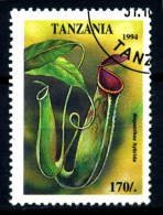 TANZANIA --fiori - Flowers -year 1994 - Usato - Used . - Sonstige