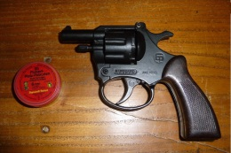 REVOLVER GP VANGARDE 6mm A BLANC ALARME