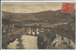 Retournac-Le Pont De Changues-Le Village Cottier Et Les Carrières-(SÉPIA) - Retournac
