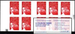 Carnet Luquet YT 3419 C15  - AVEC CARRE NOIR  - LE SALON DU TIMBRE - Carnets