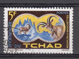 Tchad 1965 Mi Nr 129 Animal, Manenschaap, Barbary Sheep - Tsjaad (1960-...)