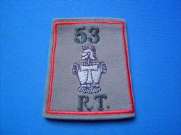PASSANT D´EPAULE 53°RT / 53° REGIMENT DE TRANSMISSIONS / 2° COMPAGNIE - Ecussons Tissu