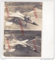 Au Plus Rapide 27 Mai 1967 Aérodrome De Melun Villaroche Présentation Mirage III G Avion Géométrie Variable - Guerra, Militares
