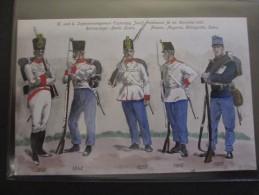Ansichtskarte über Das K. Und K. Infanterieregiment Erzherzog Josef Ferdinand - Ausrüstung