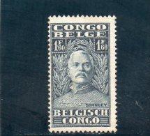 CONGO BELGE 1928 *