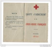 Carte Croix Rouge 1944 Comité De Cosne Sur Loire - Maps