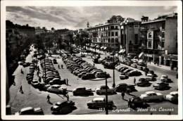 ! Ansichtskarte aus Beirut, Beyrouth, Place des Canons, Automobile, Libanon