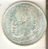 MONEDA DE PLATA DE ALEMANIA DE 5 MARK DEL AÑO 1978 LETRA D (COIN) SILVER,ARGENT. - [ 7] 1949-… : RFA - Rep. Fed. Alemana