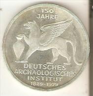 MONEDA DE PLATA DE ALEMANIA DE 5 MARK DEL AÑO 1979 LETRA J (COIN) SILVER,ARGENT. - [ 7] 1949-… : RFA - Rep. Fed. Alemana