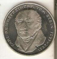 MONEDA DE ALEMANIA DE 5 MARK DEL AÑO 1981  (COIN) - [ 7] 1949-… : RFA - Rep. Fed. Alemana