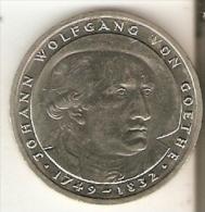 MONEDA DE ALEMANIA DE 5 MARK DEL AÑO 1982 LETRA D  (COIN) - [ 7] 1949-… : RFA - Rep. Fed. Alemana