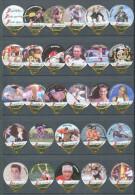 1397 A - Aide sportive.ch - Serie complete de 28 opercules Suisse Emmi