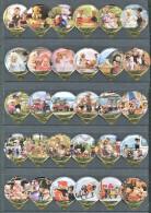 1398 A - Teddy s (Ours peluche) - Serie complete de 30 opercules Suisse Emmi
