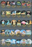 1400 A - Las Vegas - Serie complete de 30 opercules Suisse Emmi