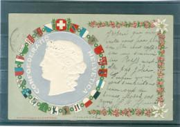Relief - Gaufrée - Embossed - Prage - Confédération Helvétique - TBE - Non Classificati