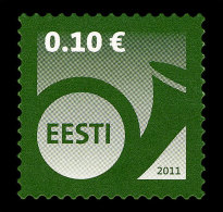 Estonia 2011 Set - Definitive Stamp - 0.10 € - Estonie