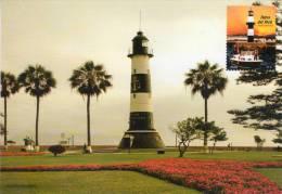 Lote PEP831, Peru, 2010, Entero Postal, Postal Stationary, Faro, Lighthouse - Peru