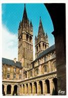 14 - Caen - L'Abbaye Aux Hommes, Les Galeries Du Cloître Et Les Flèches De L'église St Etie - Editeur: Le Goubey N° 1088 - Caen