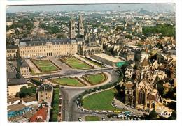 14 - Caen - Vue Aérienne - Au Premier Plan, Le Vieux Saint Etienne, La Place Guillouard - Editeur: Le Goubey N° 1069 - Caen