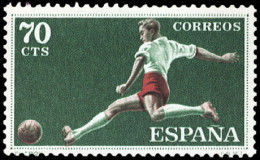 ESPAÑA SEGUNDO CENTENARIO NUEVO Nº 1308 ** 70C VERDE DEPORTES - 1931-Aujourd'hui: II. République - ....Juan Carlos I