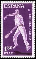 ESPAÑA SEGUNDO CENTENARIO NUEVO Nº 1317 ** 1,5P VIOLETA Y CASTAÑO DEPORTES - 1931-Aujourd'hui: II. République - ....Juan Carlos I