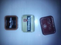 3 Boîtes Métalliques Tabac Vides  Bell\´s Three Nuns Gallaher\´s Condor Master Robert Macivor - Contenitori Di Tabacco (vuoti)