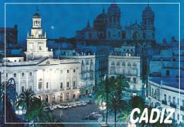 Ph-CPM Espagne Cadiz (Andalucia) Ayuntamiento Y Catedral, 12,00  X 16.50 Cm - Cádiz