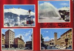 Saluti Da Rieti - 65 - Formato Grande Viaggiata - Rieti