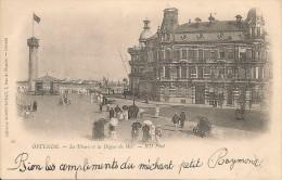 Oostende-Ostende- Le Phare Et La Digue De Mer (edit: Libraire Godtfurneau, Ostende) - Oostende
