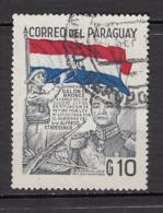 ##33, Paraguay, Militaria, Trompette, Trumpet, Musique, Music, Drapeau, Flag, Fusil, Rifle - Paraguay