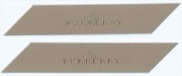2 X Singapore Perfume Ribbons  --  MY BURBERRY - Perfume Cards