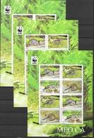 Vietnam 2010 AMIMALS MAMMALS WWF 3 Mini SheetS  Specimen + PERF + INPERF  MNH** - Ohne Zuordnung