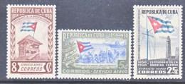 C UBA  C 41-3    **  FLAG - Airmail