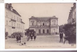 58 CLAMECY Place Des Barrieres Palais De Justice Hotel De La Poste Renat - Clamecy