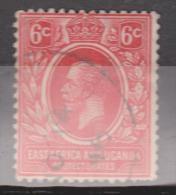 East Africa & Uganda Protectorates, 1912, SG 46, Used (Wmk Mult Crown CA) - Kenya, Uganda & Tanganyika