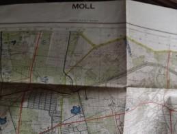MOLL.  Carte Originale D´Etat Major Allemand De La Seconde Guerre Mondiale - Sonderausgabe VII 1941-Blatt Nr 17 - Cartes Géographiques