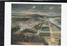 Domaine national de Saint-Cloud - Vue cavali�re du ch�teau , jardins bas et de la ville de Saint-Cloud , vers 1680