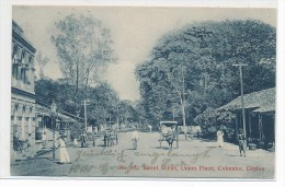 Ceylon Colombo Strassenzene  -Karte ( Da3432 ) über 100 Jahre Alt  ! - Sin Clasificación