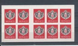 MONACO Carnet  N°101 * * T.B - Carnets