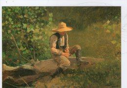 WINSLOW HOMER. THE WHITTLING BOY - Pittura & Quadri