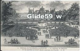 Château De MAISONS-LAFFITTE - Le Château De Maisons Et Les Jardins Au XVIIe Siècle, Gravure De Perelle - N° 2 - Maisons-Laffitte