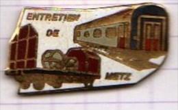 VILLE 57 METZ SNCF Entretien De Metz - TGV